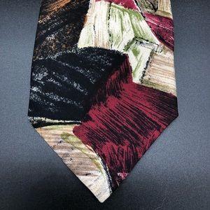 Robert Talbots for Nordstrom Tie Abstract Art